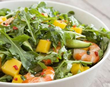 Mango and Prawn Salad