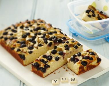 Apple and Blueberry Yoghurt Bar Recipe
