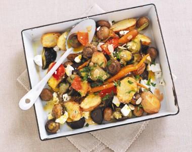 Roasted Mushroom & Vegetable Medley