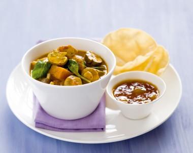 Mushroom, Chicken & Sweet Potato Curry