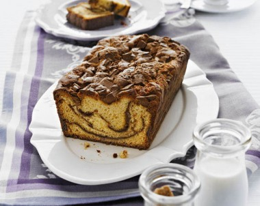 Spiced Chocolate Ripple Loaf