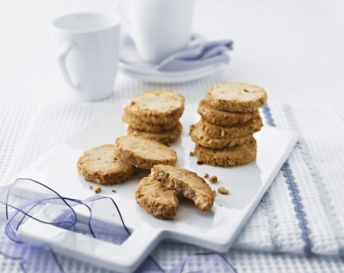 Spiced Pecan Biscuits