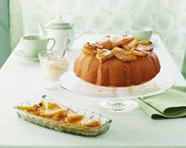 White Chocolate Pina Colada Cake