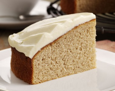 Spiced Cake with Lemon Cream Cheese Frosting