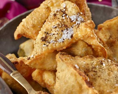 Homemade Samosa - Gluten Free option available
