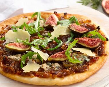 Caramelised Onion, Fig & Gorgonzola Pizza