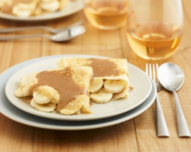 Gluten Free Crepes with Bananas recipe