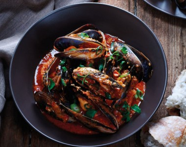 Mussels Moulin Rouge