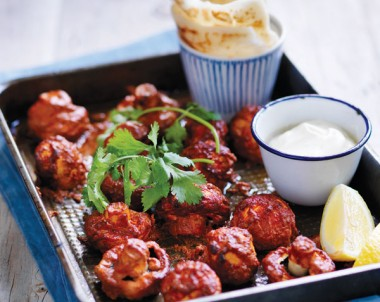 Tandoori Roasted Cup Mushrooms