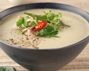 Thai Style Chicken and Coconut Soup