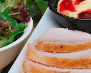 Roast Turkey Sandwich with Cranberry Mayonnaise