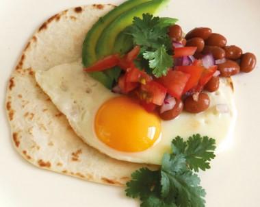 Mexican Breakfast Eggs