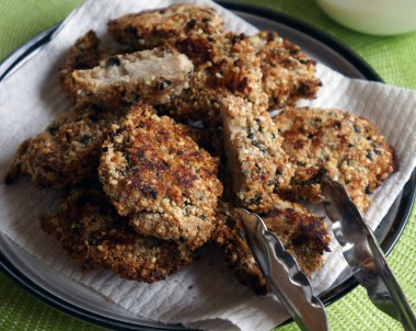 Paleo Almond and Sesame Chicken Nuggets
