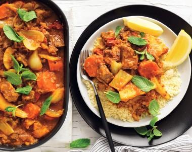 Easy Slow cooker moroccan lamb recipe