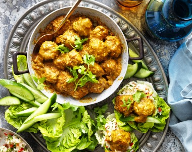 Chicken Korma Meatballs recipe
