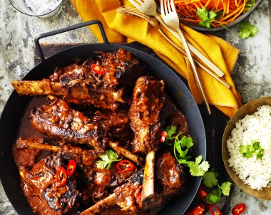 Beef Vindaloo short ribs recipe