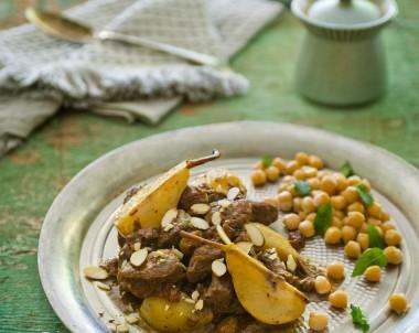 Lamb and Pear Tagine