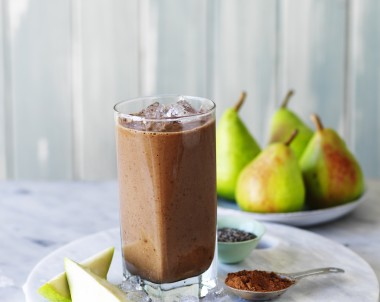 Chocolate Pear Smoothie recipe