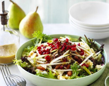 Pear and Super Grain Salad