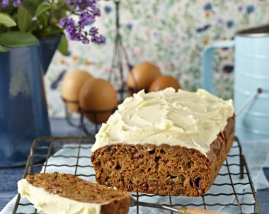Rhubarb and Ginger Chocolate Chip Loaf