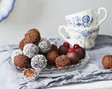 Rum balls Chocolate recipe