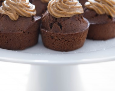 Vegan Salted Caramel Cupcakes