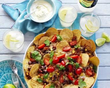 Mexican Beef Nachos recipe