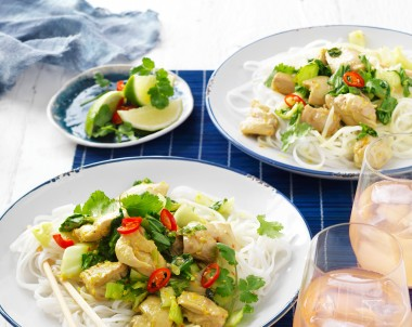 Lime, Lemon Grass and Chilli Chicken Stir-Fry