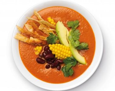 Easy Mexican Soup Recipe with Tortillas