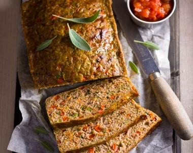 Turkey and Vegetable Meatloaf