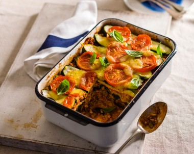 Healthy Turkey and Vegetable Lasagne