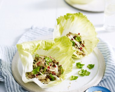 San Choy Bau recipe made with turkey mince