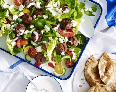 Turkey Meatball Salad