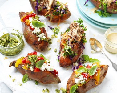 Stuffed Sweet Potatoes recipe