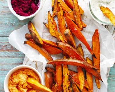 How to make Sweet Potato chips Wedges