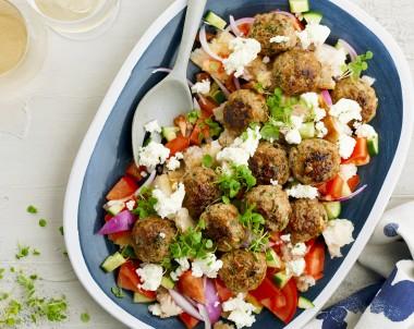 Summer Meatball Salad
