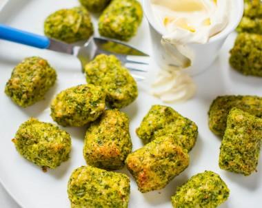 Cheesy Broccoli Gems
