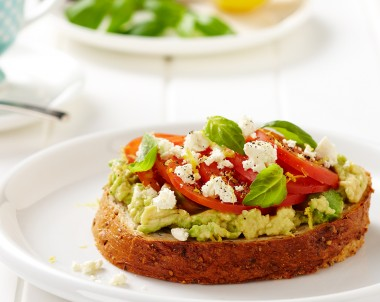 Avocado and Feta Toasts