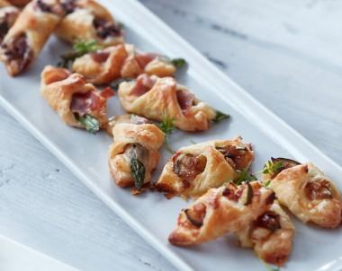 Mini Savoury Danishes: 3 ways