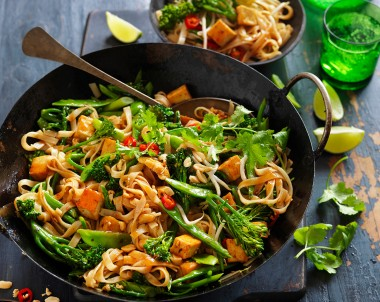 Tofu Pad Thai Recipe vegetarian