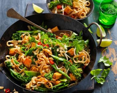 Tofu Pad Thai Recipe vegetarian