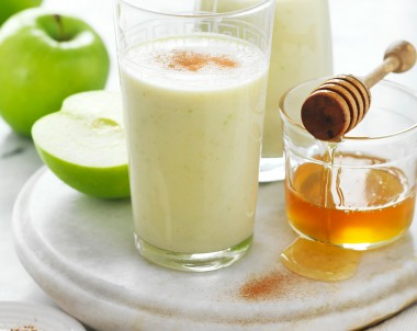 Apple Crumble Breskfast Smoothie