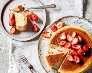 Easy New York baked cheesecake recipe