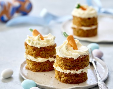 Carrot Cake with creamy cheese frosting recipe