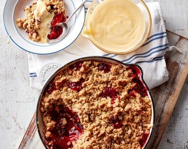 Apple berry crumble recipe