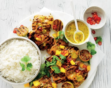 Mango, Chilli and Lime Chicken BBQ recipe