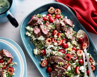 Lamb and cherry recipe