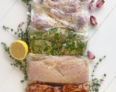 Easy chicken marinade recipes with garlic and herbs