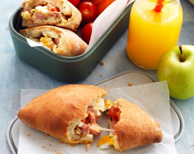 Calzone school lunch recipe