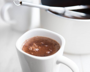 Vegan Mexican Spiced Hot Chocolate Recipe